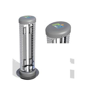 Duct type air purifier